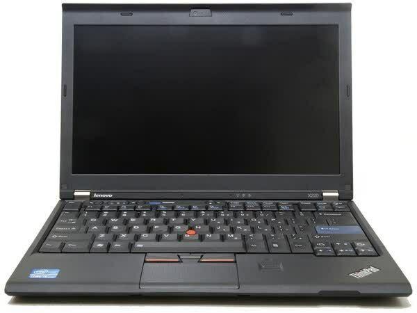 "Laptop Windows - Lenovo ThinkPad X220 12.5"" Laptop Core i7 6GB RAM 320GB HDD Windows 10Pro Webcam"