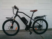 eRanger Electric MID DRIVE Bike 48v 750w free racks this month