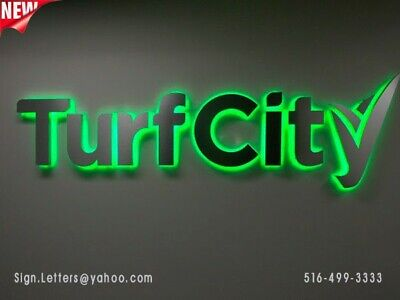 New Led Backlit Letter Sign - 12 - Custom Made - Business Signage