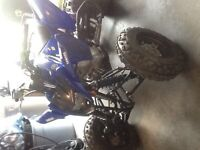 Yamaha raptor 125 only used fir about 150