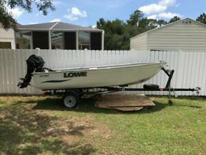 2014 14 Ft Aluminum Boat For Sale 20Hp Reduced to $6500 obo