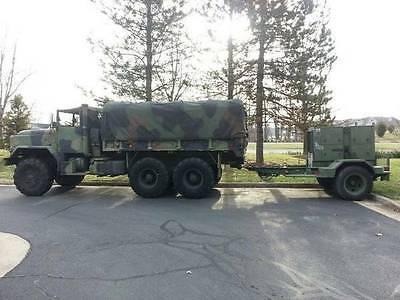 15kW Military Diesel Generator MEP-004A & 2.5 Ton Trailer