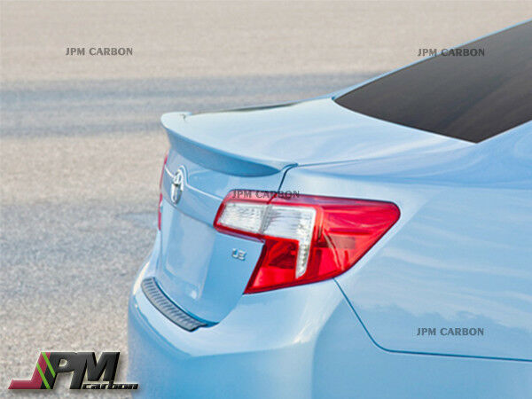 Pick Your Color 2012 2014 Toyota Camry Oe Style Trunk Boot Spoiler Wing Ebay