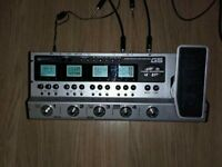 Zoom G5 multi effects, upgraded electro harmonix tube booster