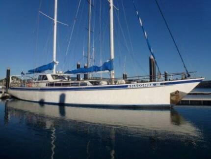 Adams Dive Charter Mega Yacht