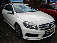 Mercedes-Benz A-ClassA180 CDI BlueEFFICIENCY AMG Sport Auto (HALF LEATHER+SAT NA