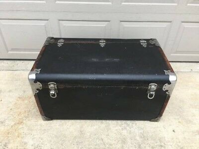 1929 1930 1932 ORIGINAL PACKARD MOTOR CO Leather Luggage Trunk RARE EXCELLENT!, used for sale  Girard