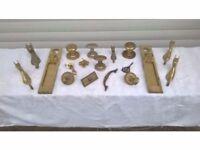 Selection of Brass Door Furniture