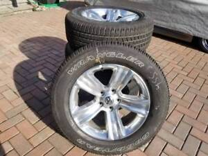 """Brand New 2018 Dodge Ram 20"""" Factory Alloy wheels and tire set"""