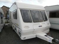 EARLY BIRD SALE STILL ON * 1999 LUNAR SOLAR 464 4-BERTH TOURING CARAVAN * MASSIVE REDUCTIONS *