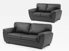 **Brand new leather 3n2 seater sofas**