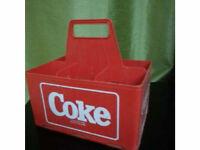 Rack à bouteilles Coke en plastique