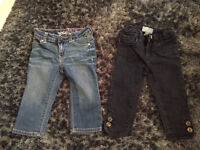 12-18 month girls gap jeans