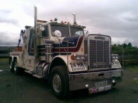 Freightliner Heavy Recovery Vehicle