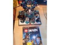 Lego dimensions ps3 plus extras