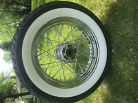 For sale Rims and tires and stock parts for Softail Deluxe