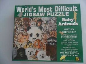 Jigsaw Puzzle (Worlds most difficult puzzle)
