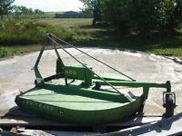 JD rotary mower