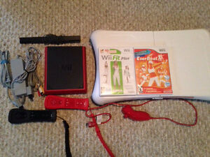 Wii Mini, Wii Balance Board and games