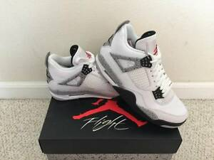 Jordan 4 cement men's US8.5
