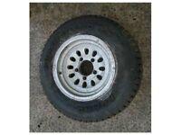 Suzuki Vitara New Kumho Powerguard 215 75 15 Tyre & Wheel 4x4 Mud Snow 215/75/R15 Fourtrak