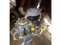2001 8 hp Honda power head with good compression