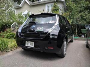 Location d'une Nissan Leaf 2012