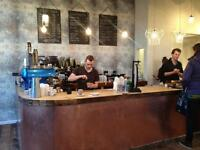 All Rounder wanted for award winning coffee shop