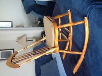 Very old smaller rocking chair