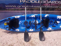 HEAVY DUTY QUILITY GREAT LAKES 12 Ft PADDLE TANDEM SIT ON KAYAK