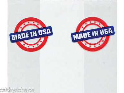 100 Made In USA Print 3-1/2x2x7-1/2 Cello Bags Candy Soaps Retail Food Safe Gift - Small Gift Bags In Bulk