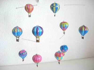 Blechspielzeug - Mobile mit Heißluftballons aus Blech  4282416