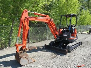 Kubota U-35 one owner
