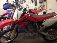 Honda cr85r 2007 swap lt50/lt80