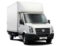 MAN AND VAN HIRE LUTON VAN WITH TAILGATE HOUSE MOVING VAN WASTE DISPOSAL JUNK REMOVAL
