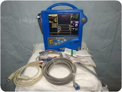 Ge Dinamap Pro 1000 Vital Signs Patient Monitor 232040