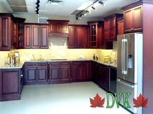 Kitchen cabinets on sale - Dark Cherry Maple