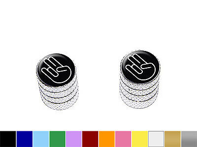 Hand Stem - Shocker Hand Gesture Tire Valve Stem Caps - Motorcycle Bike - Colors