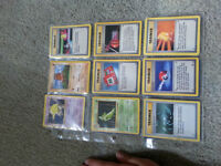 Pokemon cards, shadowless and rare