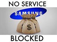I BUY : SAMSUNG S6 EDGE / S6 /j7/j5/j3/ s5/ BLOCKE-D NO SERVIC-E / NO SIGNA-L / PASSCODE / INSURANCE