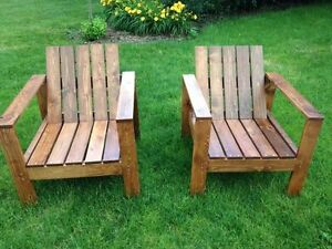WANTED:I am looking for FREE wood chairs comfy, wider seats