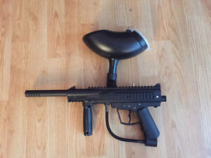 JT Outkast paintball gun and accessories