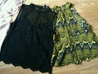 Woman's summer tops size 10/12