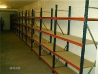 ALL INDUSTRIAL SHELVING AND LONG SPAN WANTED!! CASH PAID! (PALLET RACKING , STORAGE )