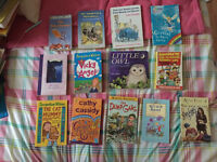 All different types of books. 50p - £5.00