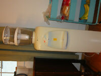 water cooler , water filter and mini fridge all in one