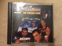 Wrestle mania playstation game
