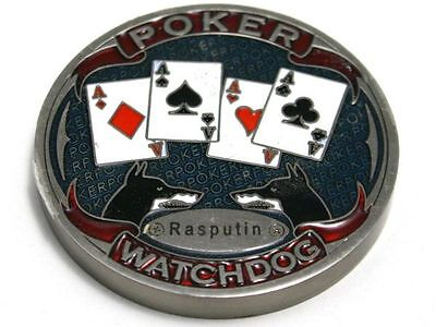 Poker Card Guard Watchdog Rasputin Metall massiv