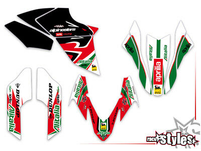 APRILIA Dorsoduro 750 900 1200, 2008-18 Dekor FULL decal KIT grafiche graphique