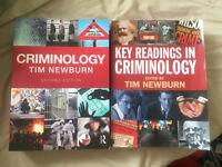 Tim Newburn Criminology & Key Readings